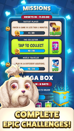 Solitaire Pets Adventure - Free Solitaire Fun Game  screenshots 6
