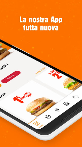 Burger King Italia 3.1.6 Screenshots 2