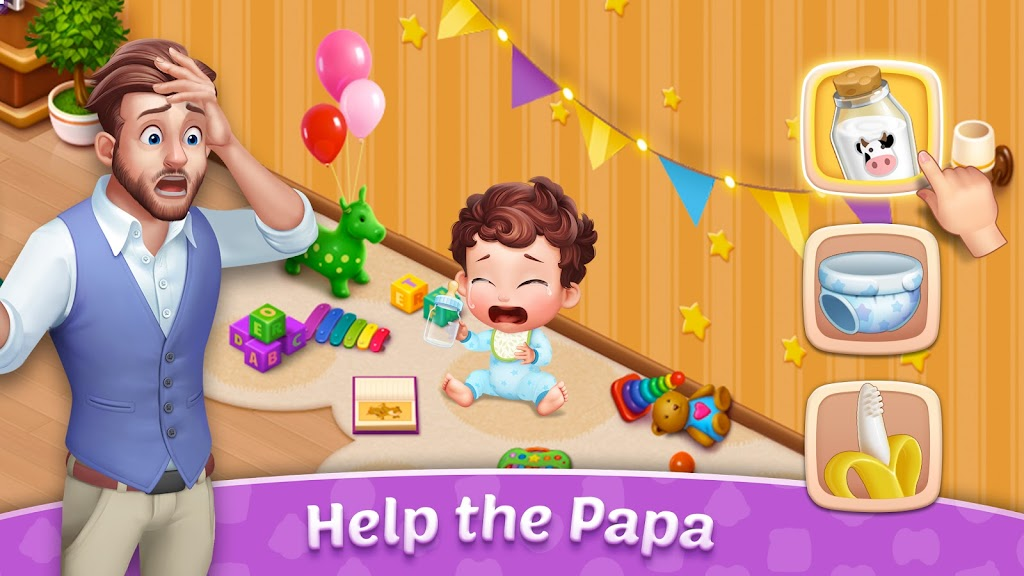 Baby Manor: Baby Raising Simulation & Home Design  poster 1