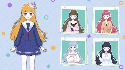 Vlinder Princess - Dress Up Games,Avatar Fairy APK MOD (Astuce) screenshots 3