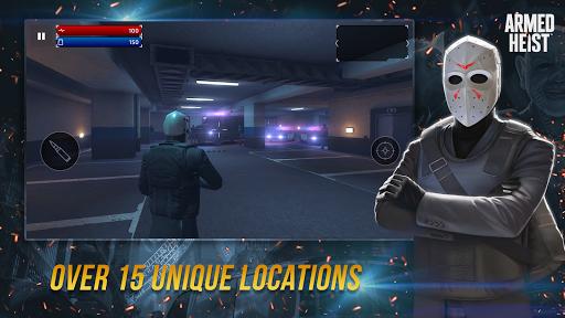 Armed Heist: TPS 3D Sniper shooting gun games goodtube screenshots 17