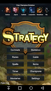 Strategy for League of Legends 1