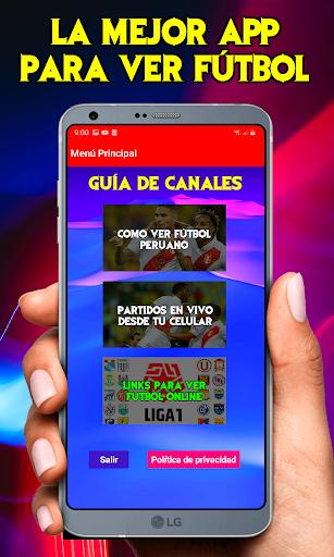 Blanquiroja TV Partidos En Vivo - Guide 2021  screenshots 2