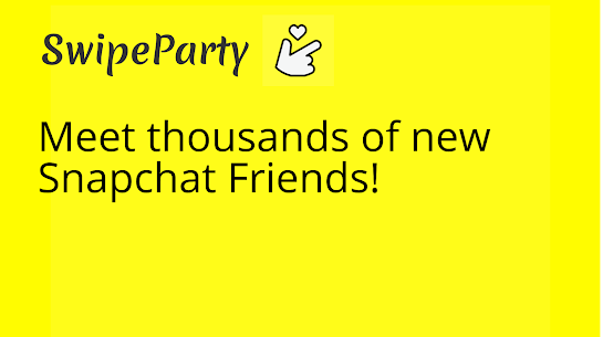 Free SwipeParty – find  make new snapchat friends Apk Download 2021 1