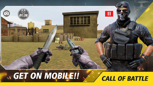 Counter Critical Strike: Army Mission Game Offline screenshots 7