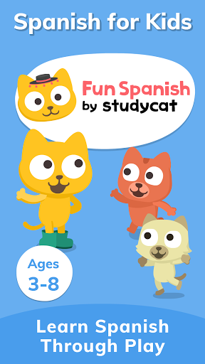 Studycat: Fun Spanish for Kids apktram screenshots 9