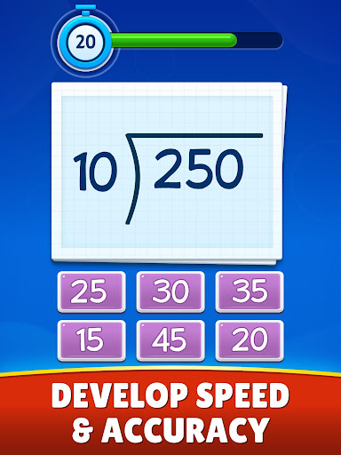 Math Games - Addition, Subtraction, Multiplication apkslow screenshots 14