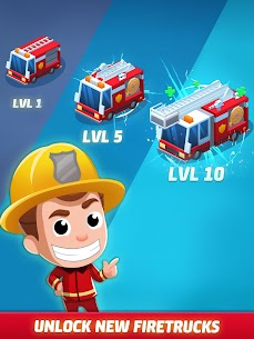 Idle Firefighter Tycoon APK , Fire Emergency Manager APK Download 21