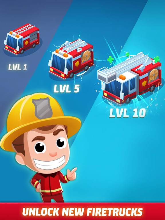 Idle Firefighter Tycoon - Fire Emergency Manager  poster 20