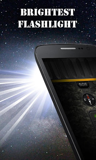 Military Flashlight Free android2mod screenshots 1