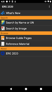 ERG 2020 for Android Screenshot