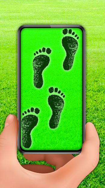 Captura 3 de Footprint invisible paths detector prank para android