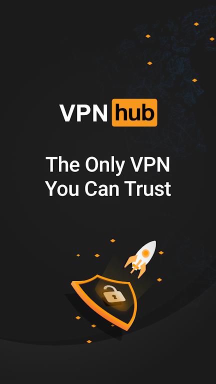 VPNhub Best Free Unlimited VPN - Secure WiFi Proxy  poster 0