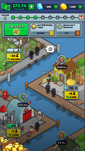 Idle Distiller - A Business Tycoon Game  screenshots 2