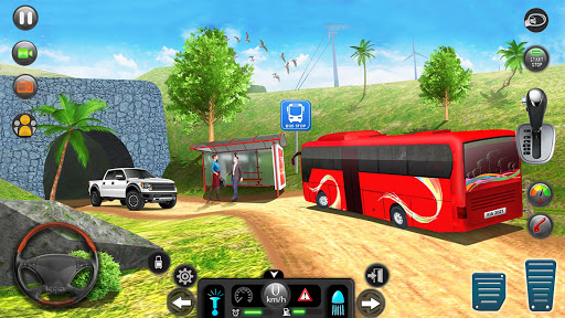 Real Bus Simulator Driving Games New Free 2021 1.7 screenshots 11