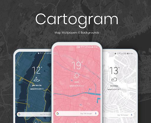 Cartogram - Live Map Wallpapers & Backgrounds modavailable screenshots 1