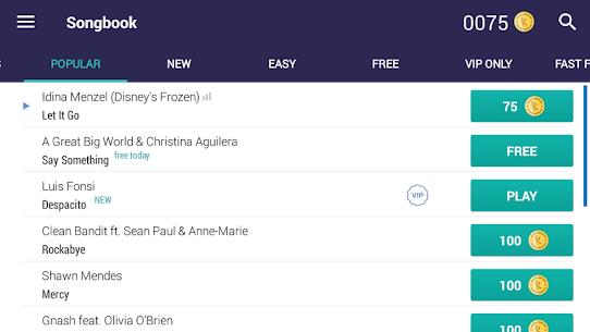 Yokee Piano v1.6.487 MOD APK – Play & Learn Free songs. 2