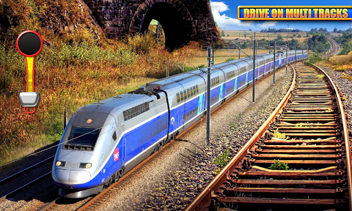 Euro Train Driving Simulation 3D: Free Train Games 1.13 screenshots 4
