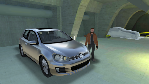 golf drift simulator screenshot 1