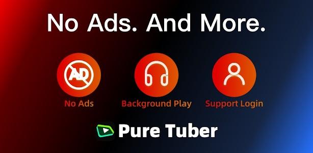 Pure Tuber - Block Ads for Video, Free Premium 2.11.1.008