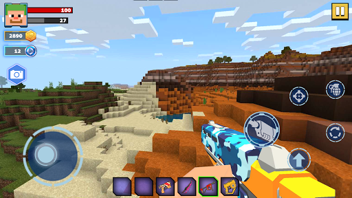 Fire Craft: 3D Pixel World android2mod screenshots 9