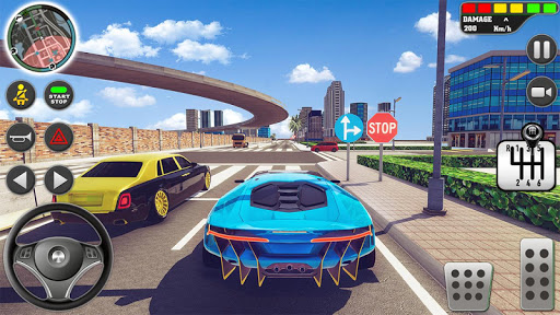 City Driving School Simulator: 3D Car Parking 2019 apkpoly screenshots 8