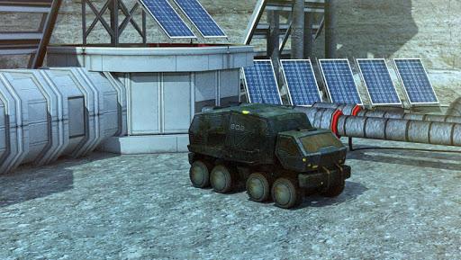 3d moon base simulator parking games 2017 screenshot 1