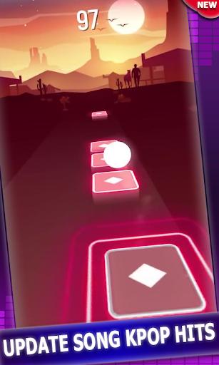 KPOP Tiles Hop Music Games Songs apkmr screenshots 3