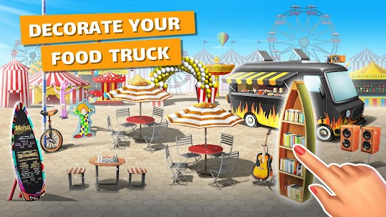 Food Truck Chef Mod Apk (Unlimited Money/Crystals) 5