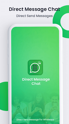 Chat Open in WHatsapp : Without Save Number  screenshots 1