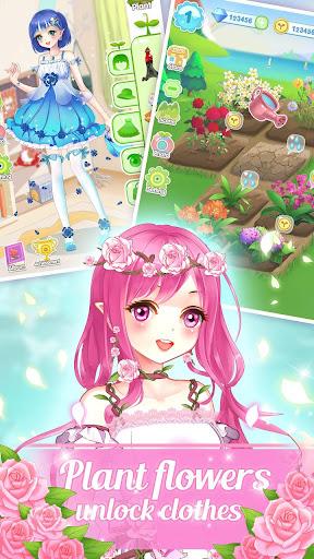 ud83dudc57ud83dudc52Garden & Dressup - Flower Princess Fairytale  Screenshots 10