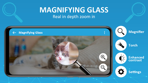 Magnifier /Text Magnifier/Digital Magnifying Glass android2mod screenshots 1