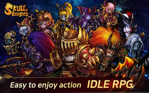 Code Triche ساحة الجمجمة: Idle Hero RPG Game APK MOD (Astuce) screenshots 1