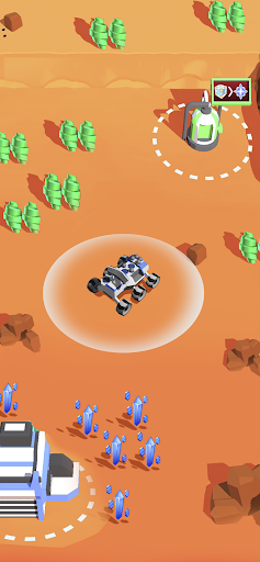 Space Rover: idle planet mining tycoon simulator 1.93 screenshots 5