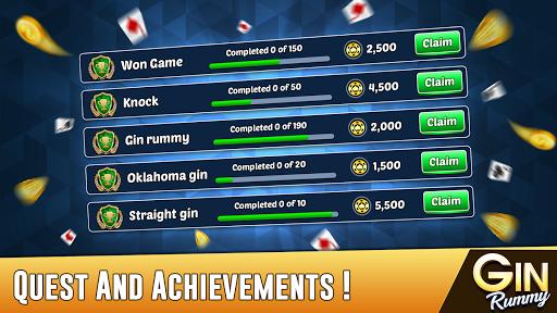 Gin Rummy - Best Free 2 Player Card Games 23.8 screenshots 5