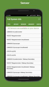 Full system info Pro v2.8.2 Cracked APK 4