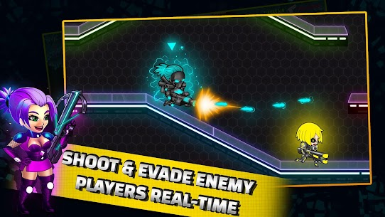 Neon Blasters Multiplayer Shooting Online Hack Game Android & iOS 3