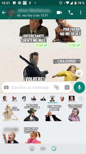 Memes con Frases Stickers en espau00f1ol para WhatsApp  Screenshots 4