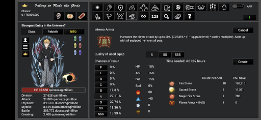 Idling to Rule the Gods 3.50 screenshots 23