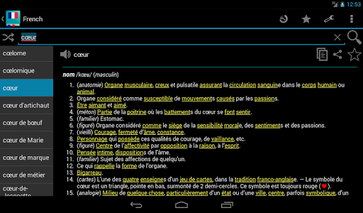 French Dictionary - Offline  Screenshots 16