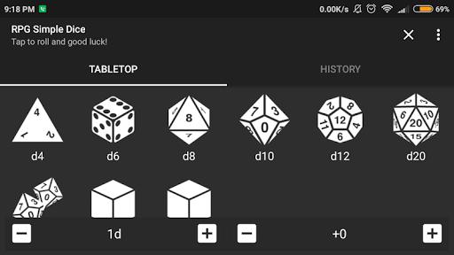 RPG Simple Dice  screenshots 5