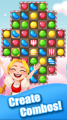 Sweet Candy Bomb: Crush & Pop Match 3 Puzzle Game 1.0.5 screenshots 3