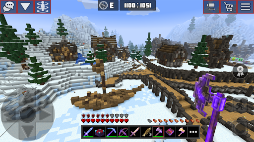 Planet of Cubes Craft Survival apkslow screenshots 12