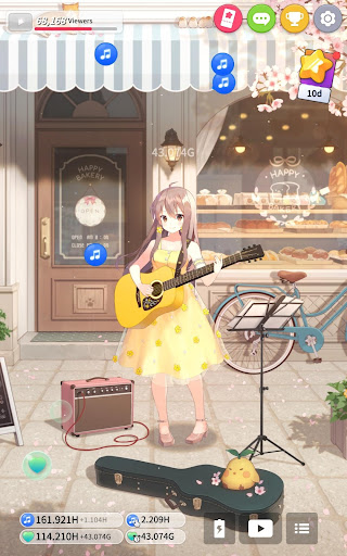 Guitar Girl : Relaxing Music Game 2.3.0 screenshots 16