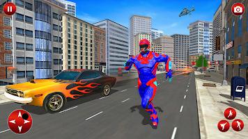 Superhero Police Speed Hero Rescue Mission