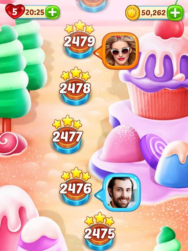 Ice Cream Paradise - Match 3 Puzzle Adventure Apkfinish screenshots 13