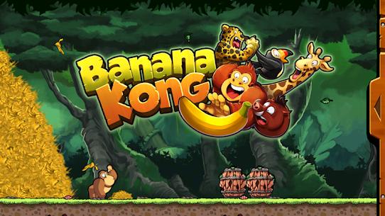 تحميل لعبة Banana Kong مهكرة للاندرويد [آخر اصدار] 1