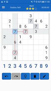 Sudoku Game - Hard Sudoku Free Games & 0pen Sudoku