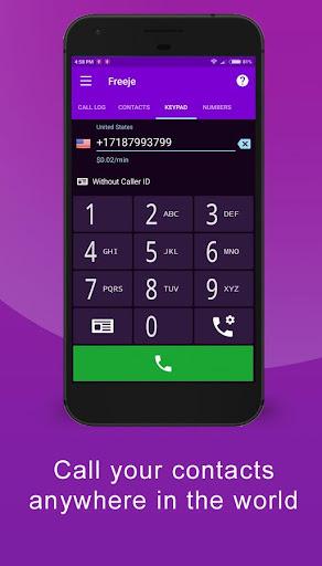 Freeje Virtual SIM - International Business Number  Screenshots 1