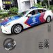 米国のパトカーの運転:現代の警察の駐車場2021 - 天気アプリ